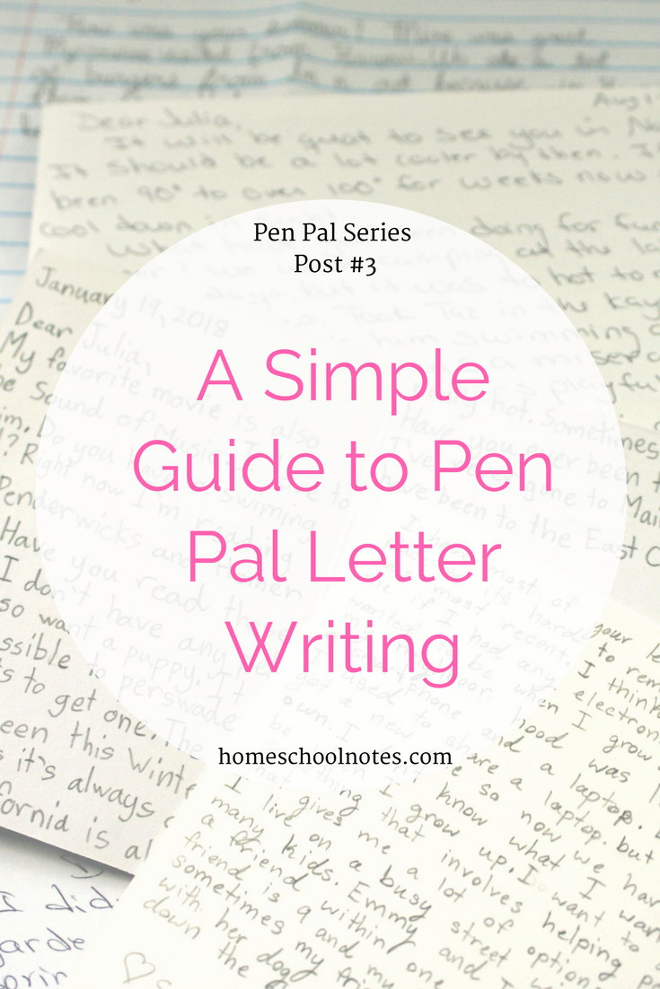 A Simple Guide To Pen Pal Letter Writing